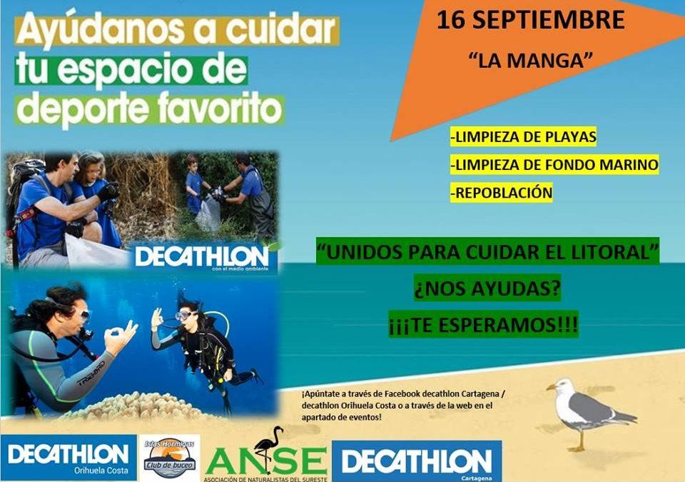 Colaboracion de los voluntarios de Decathlon con ANSE