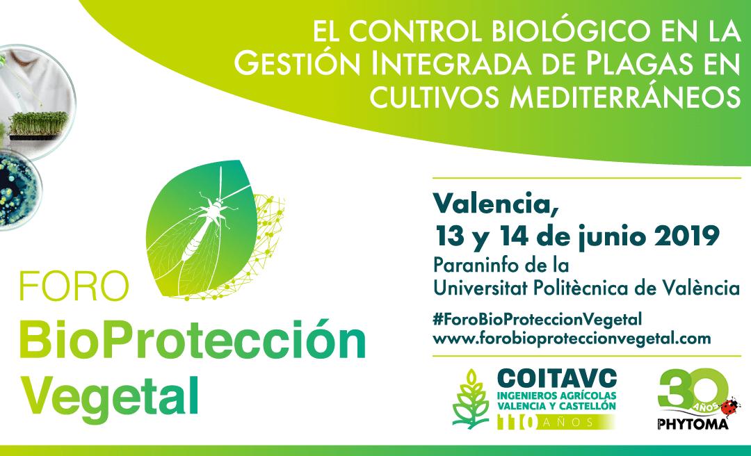 GO Setos en el Foro BioProtección Vegetal (Valencia)