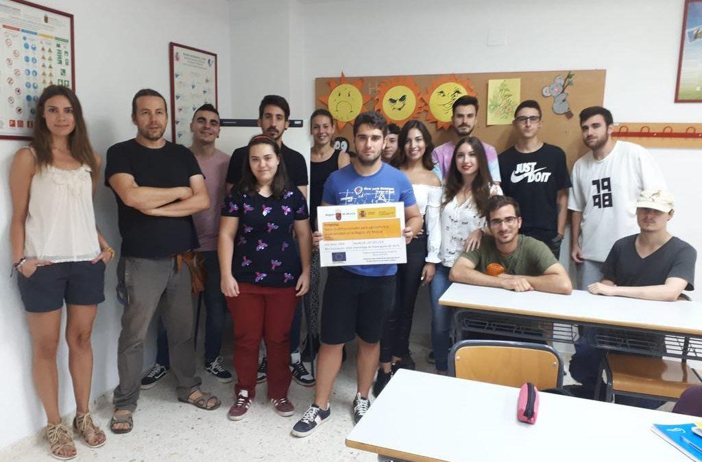 Presentación del proyecto en el CIFEA de Molina de Segura
